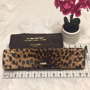 Kate Spade Cheetah Clutch